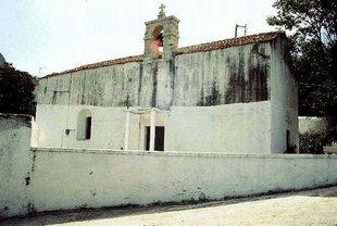 L'église Byzantine de la Panagia à Spili