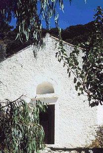 L'église Byzantine d'Agios Ioannis, Kissos