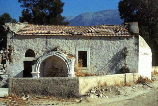 The Byzantine church of the Panagia, Monohoro
