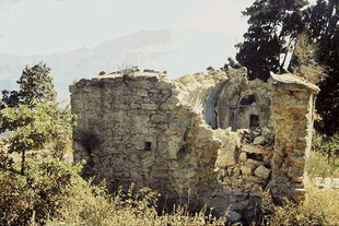 The Byzantine church of Sotiras Christos, Kaloidena Monastery
