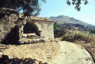 The Byzantine church of the Panagia in Smiles