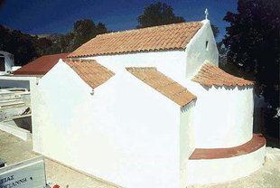 Το ασυνήθιστο σχήμα της Βυζαντινής εκκλησίας της Παναγίας στην Αγία Γαλήνη