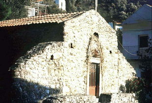 The Byzantine church of the Panagia, Platania