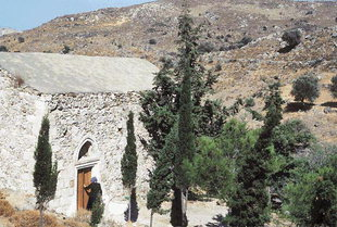 The Byzantine church of  Agii Theodori in Agios Kirilos