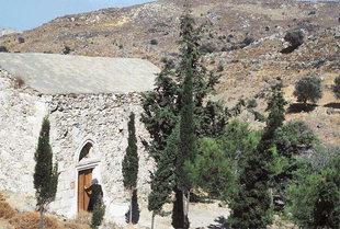 Die byzantinische Agii Theodori-Kirche in Agios Kirilos