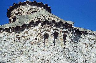 Ο διάκοσμος της βυζαντινής εκκλησίας της Παναγίας Λαμπινής