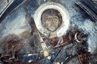 Saint George in Agios Georgios Xifoforos Church in Apodoulou