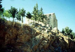 L'église Byzantine des Agii Theodori dans à Agios Kirilos