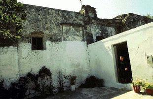 La cour de la villa Vénitienne à Kalathenes