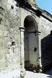 Le portail de la villa Vénitienne à Kalathenes