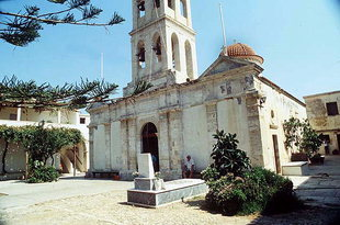 The Panagia Odigitria Church of the Gonia Monastery
