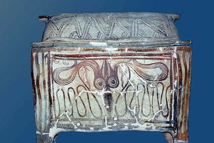 Minoan Sarcophagus in the Chania museum
