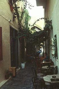 L'arco veneziano in Via Vafe, Rethimnon