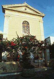L'église catholique de St. Antoine à Rethimnon