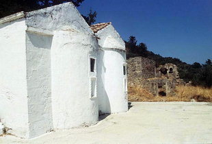 The Byzantine church Agia Paraskevi  in Topolia