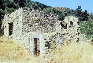 A ruin near Agia Paraskevi Church in Topolia