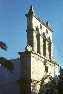 The belfry of the Panagia Church in Kirianna