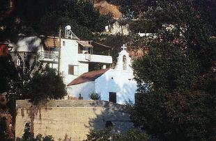 Η Βυζαντινή εκκλησία της Αγίας Τριάδας και του Αγίου Νικολάου στην Αγία Τριάδα