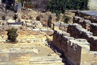 The Minoan palace excavation in Arhanes