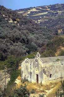 The Panagia Kera, Sarhos