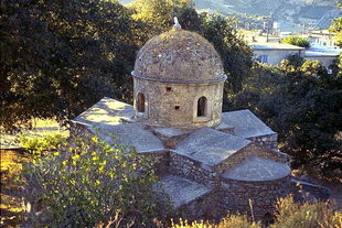 The Byzantine church of Agios Ioannis, Roukani