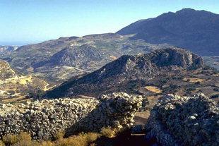 The Byzantine fort of Temenos, Kanli Kastelli