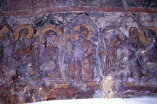 Dormition of the Virgin in Astratigos Church in Kardaki