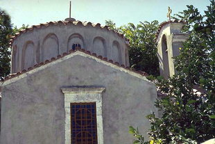 The Byzantine church of the Panagia in Pirgou