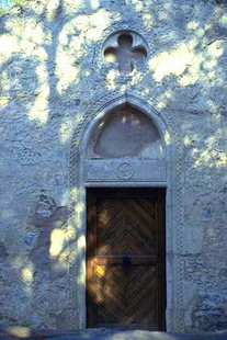 The portal of Agios Georgios Church in Episkopi