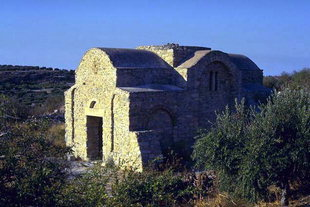 The Byzantine church of the Panagia Limniotisa in Episkopi