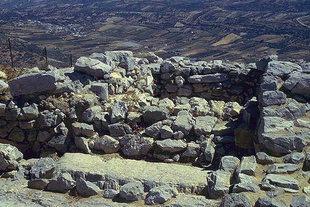 Le sanctuaire Minoen sur le Mont Youktas