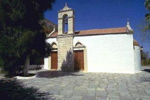 Die Kirche vom Gorgoliani-Kloster