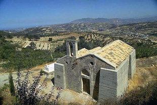 L'église Byzantine de Michael Archangelos à Vlahiana