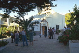 L'église du Monastère de Palianis