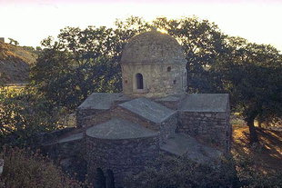 The Byzantine church of Agios Ioannis in Roukani