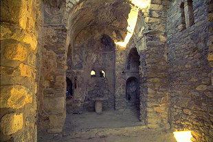 Das Kircheninnere der Panagia Limniotisa in Episkopi