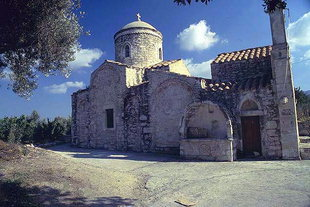 The Byzantine church of Agios Georgios in Kalamas