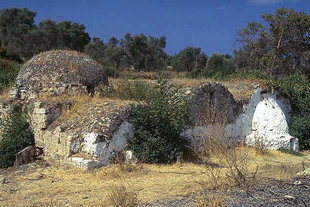 The old church of Agios Dimitrios in Viran Episkopi