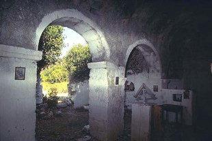Η παλιά εκκλησία του Αγίου Δημητρίου στη Βιράν Επισκοπή