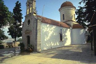 Η Βυζαντινή εκκλησία της Παναγίας στα Τσικαλαριά