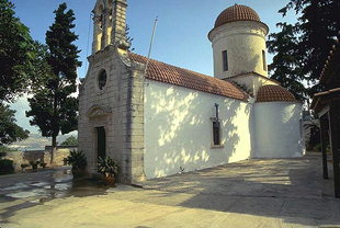 L'église Byzantine de la Panagia à Tsikalaria
