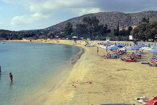 Marathi beach on the Akrotiri of Chania