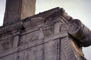 Un particolare della chiesa di Profitis Ilias, Mourniès