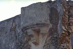 Un détail d'une construction Vénitienne à Sternes