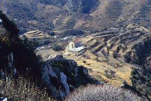 Die byzantinische Kirche der Neunundneunzig Märtyrer, Polirinia