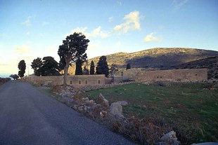 Das Aretiou-Kloster in Mirabelo