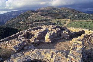 Die festungsähnliche minoische Villa von Hamezi