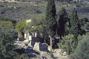 Agios Georgios Vrahatsiotis Monastery in Latsida