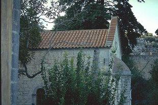 L'église principale du Monastère du XV siècle d'Aretiou