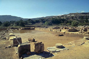 The Central Court of the palace, Zakros
